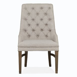 Canora Grey Monroe Upholstered Dining Chair (Set of 2)