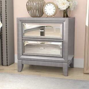 Marisela 2 Drawer Nightstand by House of Hampton