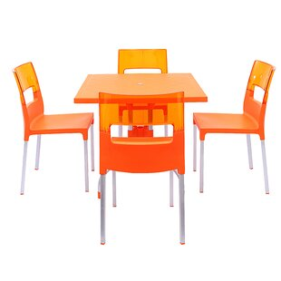 Slezak 4 Piece Dining Set