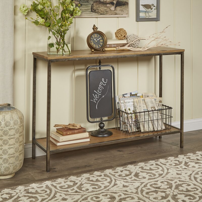 15 Entrance Hall Table Styles To Marvel At: Birch Lane™ Stourton Console Table & Reviews