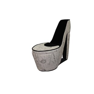 ORE Furniture Old World High Heel Shoe Lounge Chair