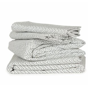 Chevron 300 Thread Count Cotton Sheet Set