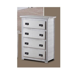 Chun 4 Drawer Chest by Harriet Bee
