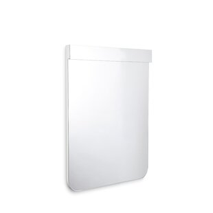 WS Bath Collections Scalin Bathroom Wall Mirror with LED Lighting