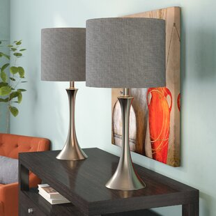 Alcott Hill Chesterfield 2 Piece Table Lamp Set (Set of 2)