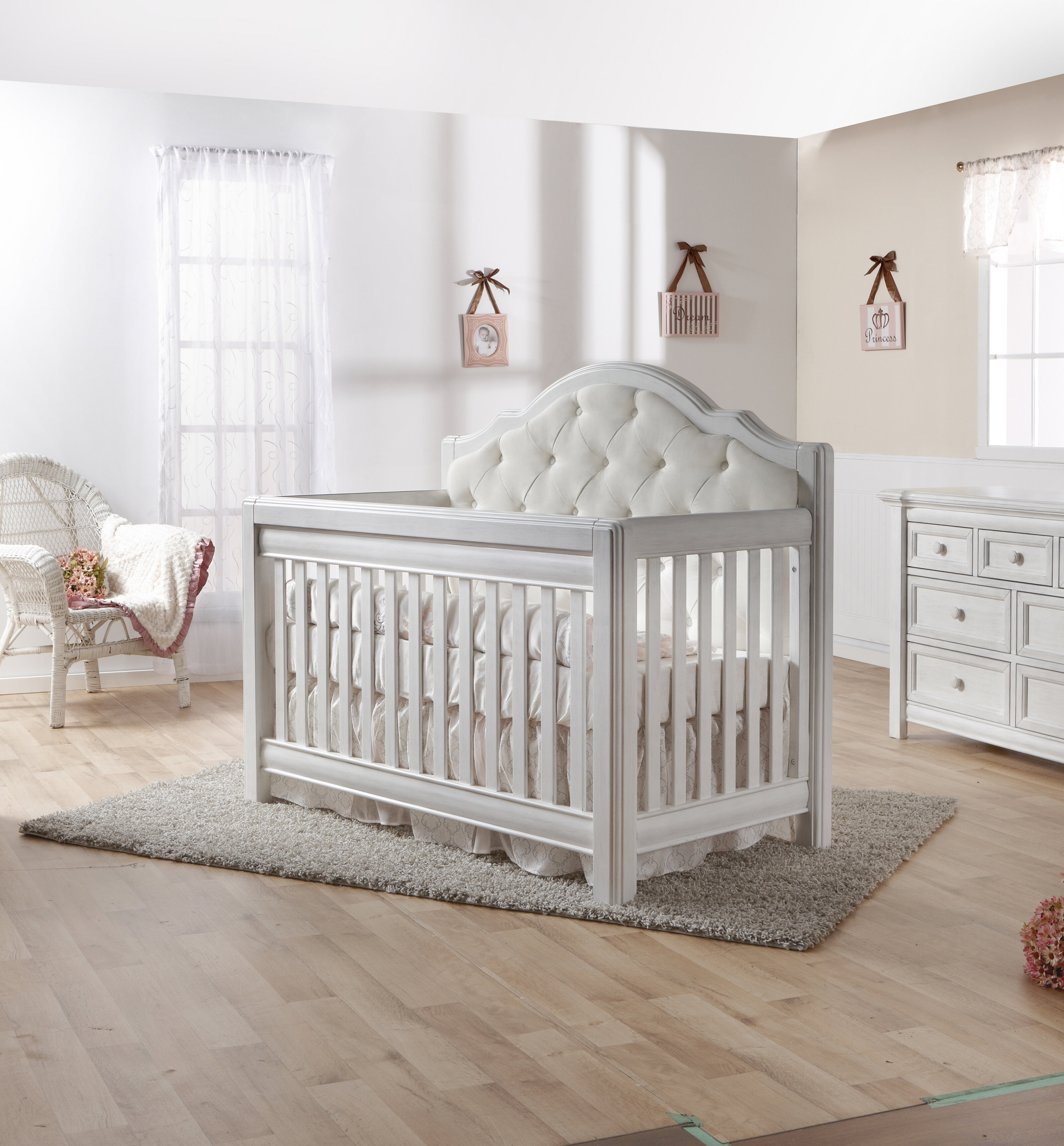 PALI Cristallo Forever 4 In 1 Convertible Crib U0026 Reviews | Wayfair
