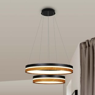 Best Price Pyxis 2-Light  LED  Chandelier By Brayden Studio