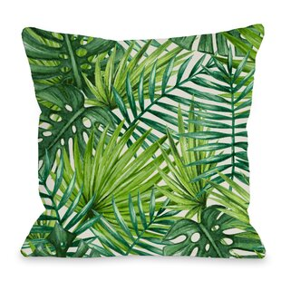 Outstanding Palm Leaf Throw Pillow Ocoug Best Dining Table And Chair Ideas Images Ocougorg