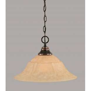 Red Barrel Studio Chattanooga 1-Light Bowl Pendant