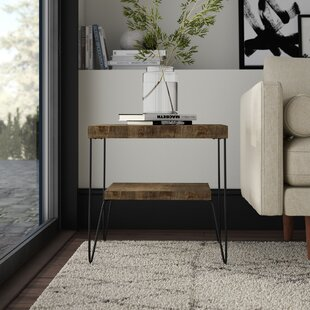 Mcfarlane Square End Table with Shelf