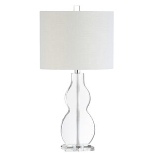 Modern Contemporary Stacked Crystal Table Lamp Allmodern