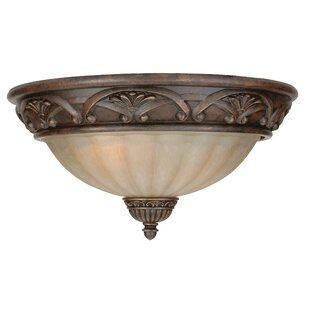 Astoria Grand Snodgrass 2 Flush Mount