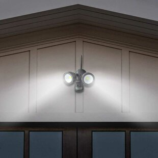 Palmira Wifi Outdoor Security Kit With Ip Camera And Twin Led Floodlight By Sol 72 Outdoor