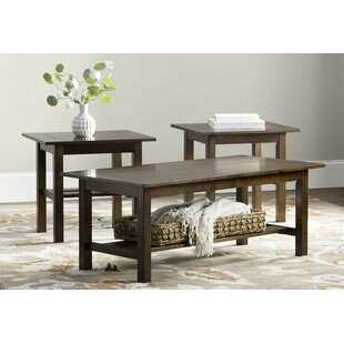 Andover Mills Frances 3 Piece Coffee Table Set