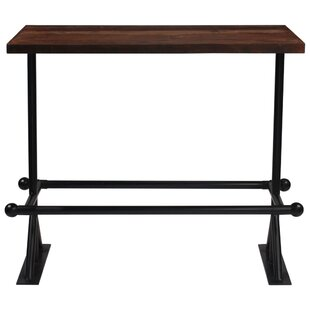 Neacola Wooden Bar Table By Union Rustic