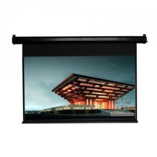 TygerClaw Black Electric Projection Screen