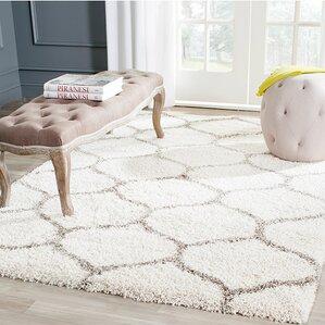 marco ivorygrey shag area rug