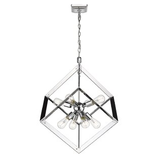 Trosky 8-Light Geometric Chandelier by Orren Ellis
