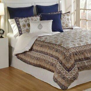 Isabella 4 Piece Comforter Set by Spectrum Home Textiles