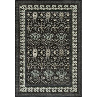 Channel Gray Area Rug byCharlton Home