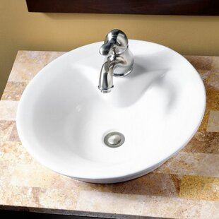 Reviews Ceramic Circular Vessel Bathroom Sink By American Standard