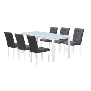 Farmington Dining Set With 6 Chairs By Brambly Cottage