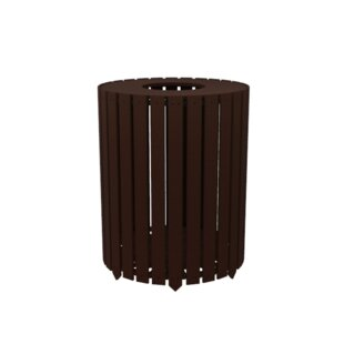 Traditions Receptacle 40 Gallon Curbside Trash & Recycling Bin By Arete
