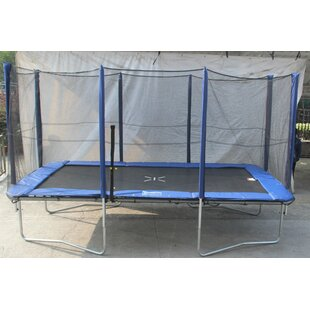 Super Jumper 12' Rectangle Trampoline with Safety Enclosure