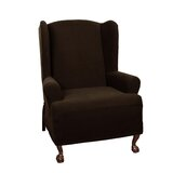 T-Cushion Wingback Slipcover by Darby Home Co