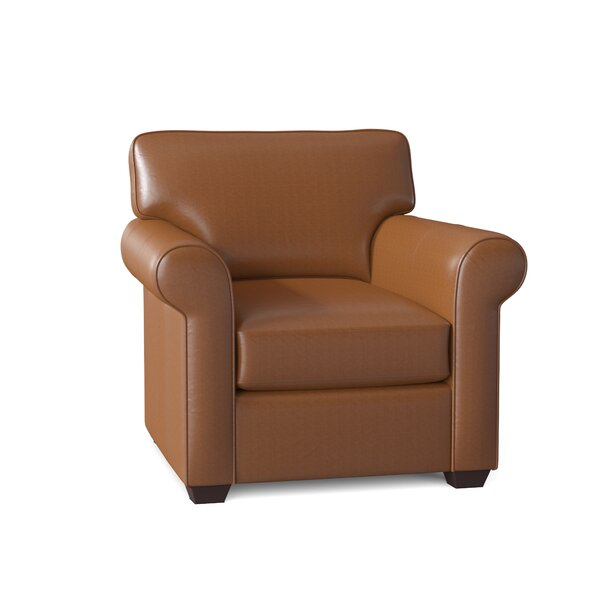 Small Brown Leather Club Chair Wayfair