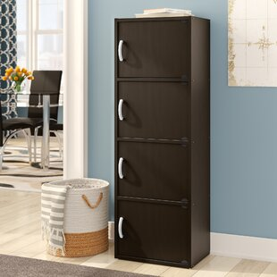 Hubbs Storage 4 Door Accent Cabinet by Symple Stuff