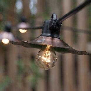 35 ft. 7-Light Shaded String Light by Wintergreen Lighting