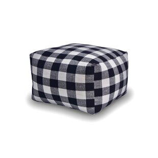 Check Me Out Square Pouf by The 1st Chair