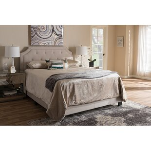 Drew Upholstered Panel Bed by Mercer41