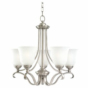 Darby Home Co Culley 5-Light Shaded Chandelier