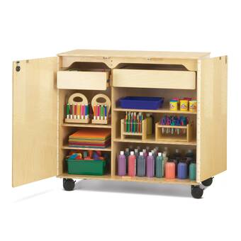 Jonti Craft 5 Compartment Cubby With Bins Wayfair