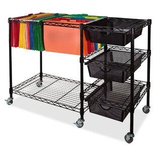 Mobile File Cart by Vertiflex