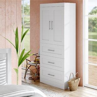 Check Prices Navarro 35.8W Closet System ByBeachcrest Home