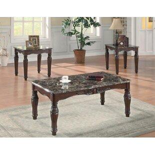 Astoria Grand Verlyn 3 Piece Coffee Table Set