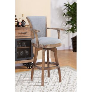 Shockley 26 Swivel Bar Stool by Alcott Hill Modern