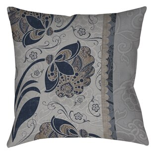 Elegante Printed Throw Pillow