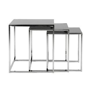 Avienda 3 Piece Coffee Table Set By Metro Lane