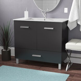 Find the perfect Kasen 35 Single Bathroom Vanity Set By Wade Logan