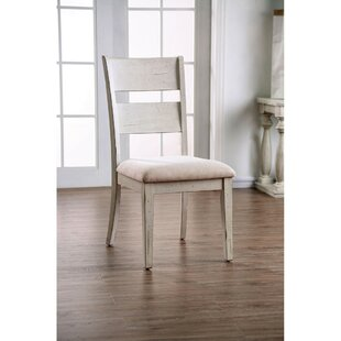 Mohamed Transitional Upholstered Dining Chair (Set of 2)