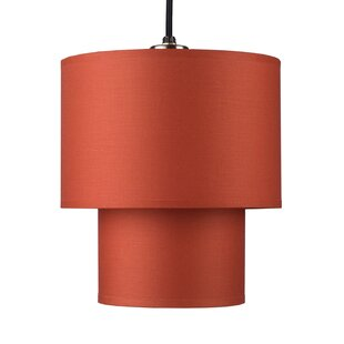 Deco 1-Light Drum Pendant ..