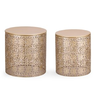 Price comparison Heenan 2 Piece Coffee Side Table By Wrought Studio