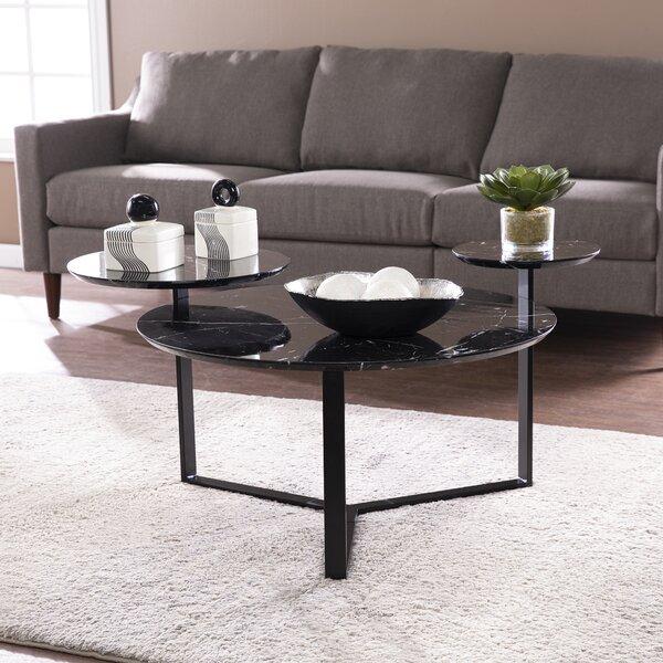 Orren Ellis 3 Legs Coffee Table Wayfair