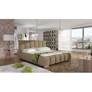 Orren Ellis Soma Upholstered Platform Bed with Mattress
