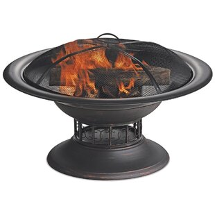 Endless Summer Steel Wood Burning Fire Pit
