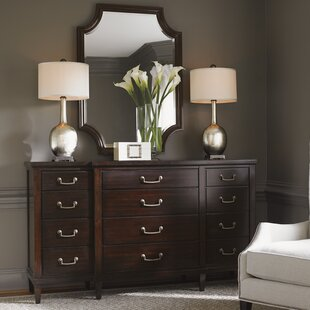 Kensington Place 12 Drawer Dresser with Mirror